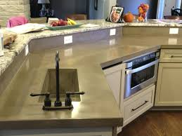 concrete countertop concrete countertop mix white concrete countertops diy  over laminate concrete countertop mix