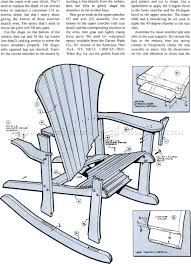 adirondack rocking chair plans.  Chair 1860 Adirondack Rocking Chair Plans  Outdoor Furniture And Projects Intended I