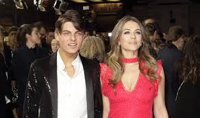 Elizabeth Hurley and son Damian share ...