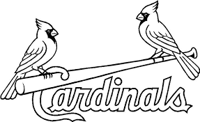 Pretentious Inspiration Cardinal Coloring Page Baseball Adult Pages