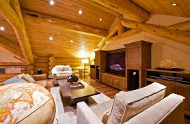 living room gorgeous log home interior wall ideas behind media storage cabinet with rustic drawer pulls cabin lighting ideas
