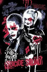 Sebevražedný Oddíl Joker And Harley Quinn Plakát Obraz Na Zeď