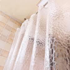 bath shower curtain home decor 2 2m 2m height bathroom accessories villa with swimming pool