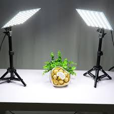small studio lighting. aliexpresscom buy led video light kits small photo studio softbox shooting mini box 2pcs45cm stand 2pcsled board4pcsclips from lighting l