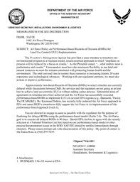 Sample Airforce Recommendation Letter air force mfr format - Koto.npand.co