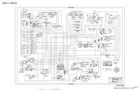 doosan electrical hydraulic schematics manual repair manual enlarge