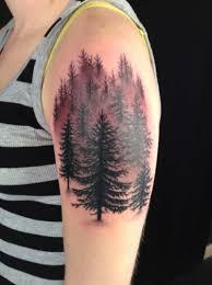 тату лес 100 лучших вариантов на фото эскизы значение