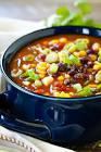 black bean and corn soup