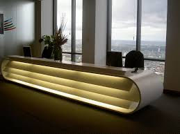 ... Modern Office Furniture Coolest Desk In Building Simple Room Interior  Design Unique Table With Round End ...