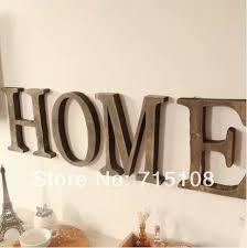 Aliexpresscom  Buy Vintage Wooden Letter Free Standing Big Size Letter S Home Decor
