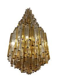 italian mid century chandelier by venini