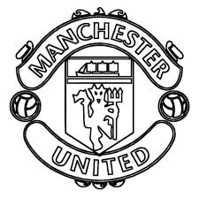 Small Picture Print Manchester United Logo Soccer Coloring Pages Or Download