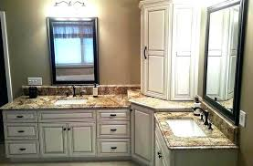 countertop cabinets for the bathroom cabinet bathroom laminate grey countertop white cabinets bathroom