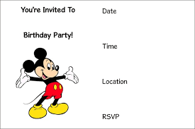 free birthday invitation template for kids mickey mouse printable invitation template orderecigsjuice info
