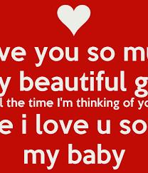 Girl i m thinking of you