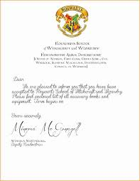 9 harry potter acceptance letter printable invoice template
