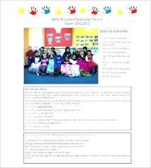 Childrens Newsletter Template