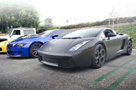 lamborghini gallardo 2014 blue. filematte black lamborghini gallardo and blue chrome wrapped bmw m6 10147843554 2014