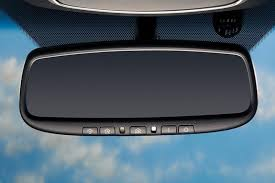 oem 2016 2019 kia soo auto dimming rear view mirror w homelink compass