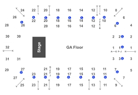Dow Event Center Seating Chart Disturbed Tickets Tue Oct 1 2019 7 30 Pm At Dow Arena At