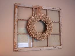 Decorate With Old Windows Old Windows Fresh Style
