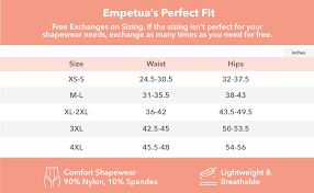 Shapermint Size Chart Empetua Shapermint Body Shaper Waist Trainer Tummy Control Panty Butt Lifter Panties Shapewear For Women