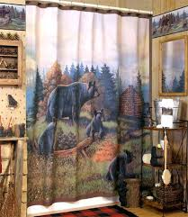 cabin themed shower curtains shower curtain cabin themed shower curtain hooks