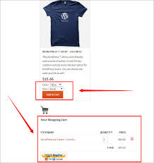 wordpress shopping carts how to use wordpress simple paypal shopping cart plugin