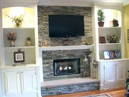 wall mounted over fireplace ideas best above on mantle for the tv design