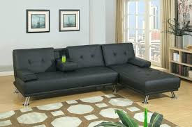 faux leather sectional couch details about black faux leather adjustable sectional sofa bed faux leather sectional