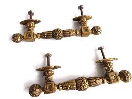 antique door knobs hardware. UpperDutch:Hooks And Hardware,Set Of 2 Antique Brass Cabinet Pulls, Piano Handles Door Knobs Hardware .