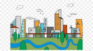 Urban Area Cartoon Png Cartoon Drawing Clipart Download