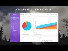 How To Create A Responsive Admin Template Using Light Bootstrap