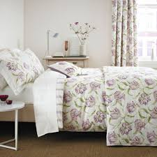 sanderson dancing tulips duvet cover set disc