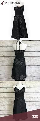 White House Black Market Size Chart Dress White House Black Market Black Eyelet Dress Sz 4 6 White