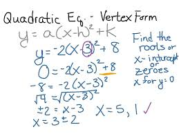 standard form to vertex calculator finding in mathf