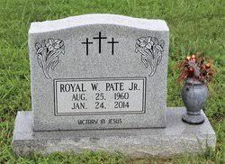 Royal W. Pate Jr. (1960-2014) - Find A Grave Memorial