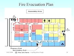 Evacuation Plan Sample Home Safety Plan Template Health And Safety Plan Template