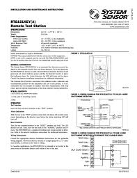 duct smoke detector wiring diagram to system sensor rts151keya at system sensor 2 wire duct detector at System Sensor Duct Detector Wiring Diagram
