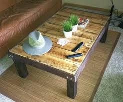 DIY Coffee Table out of a Wooden Pallet