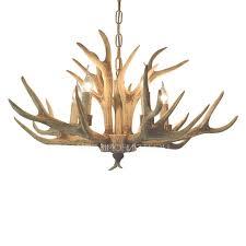 rustic 5 light antler shaped outdoor candle chandelier with regard to antler chandelier colorado gallery