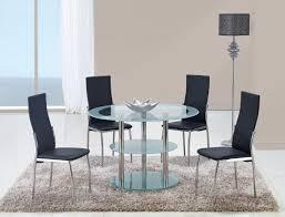 livingroom modern black dining room sets modern black and glass