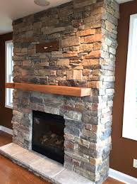 Mantel On Stone Fireplace Articles With Diy Stone Fireplace Mantel Tag Building A Stone