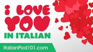 3 ways to say i love you in italian