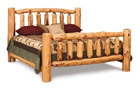 log rustic furniture amish. Log Cabin Bed Frames Rustic Red Cedar King From Dutchcrafters Amish Furniture Ideas