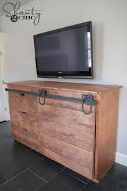 free barnwood furniture plans. build a sliding barn door console get the free plans at shanty2 barnwood furniture c