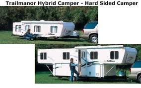 travel trailers with large bathrooms. Trailmanor Hybrid Camper Travel Trailers With Large Bathrooms E