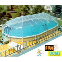 Fabrico Sun Dome for 12 x 24 Oval Above Ground Pool