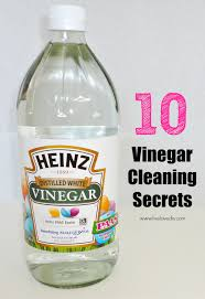 10 vinegar cleaning secrets