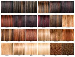 350 Hair Color Chart Color Chart